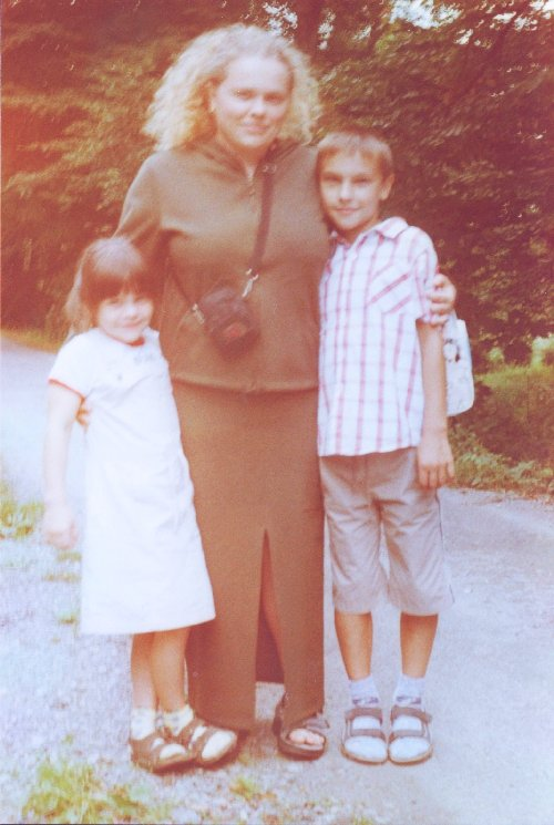 Synovec Staník, neteř Kateřina a já